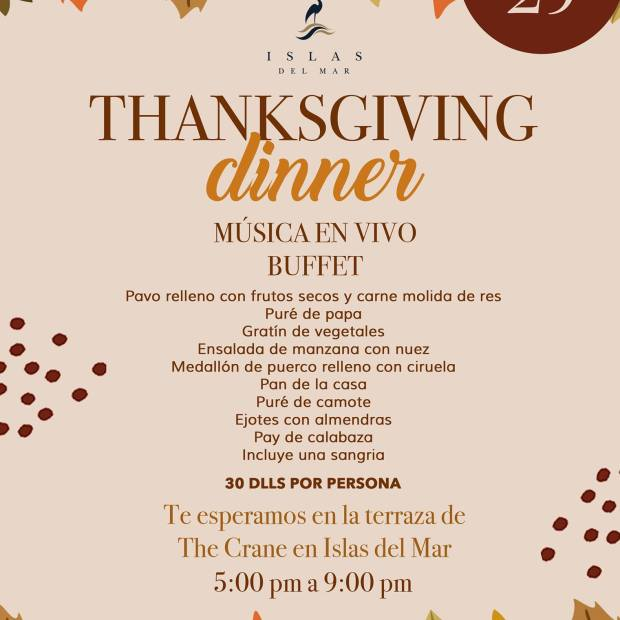 Islas-del-Mar-Thanksgiving-Dinner-19 Gobble Gobble! Rocky Point Weekend Rundown!