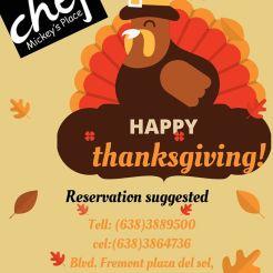 thanksgiving-mickeys Turkey plans 2019?
