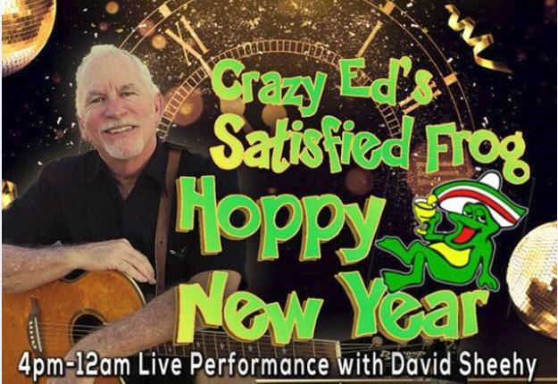 David-Sheehy-Sstisfied-Frog-NYE-19 New Year's in Rocky Point!