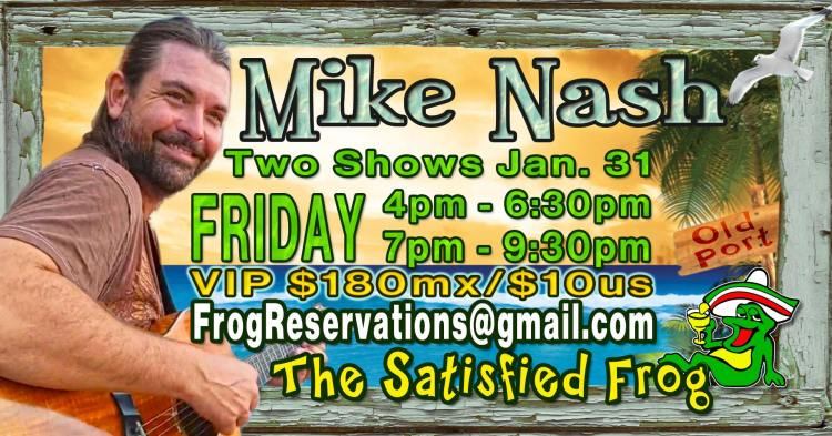 Mike-Nash-Frog-January-31-20 Mike Nash solo at The Satisfied Frog