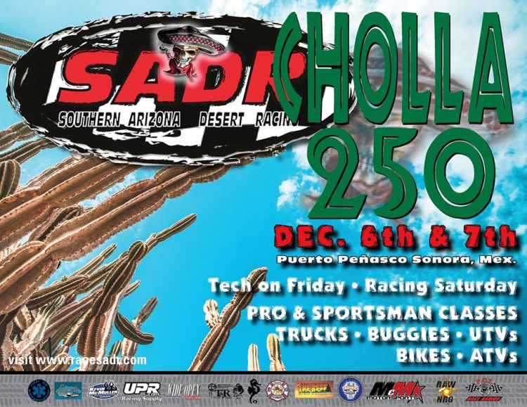 cholla-250-dec6-7 December, on! Rocky Point Weekend Rundown!