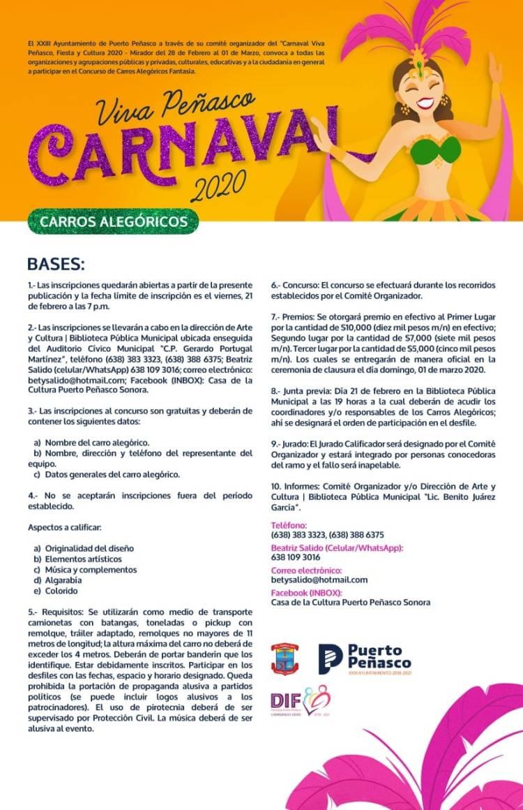 Convocatoria-Carros-Alegoricos-Carnaval-20-776x1200 Call for Carnaval floats & groups!