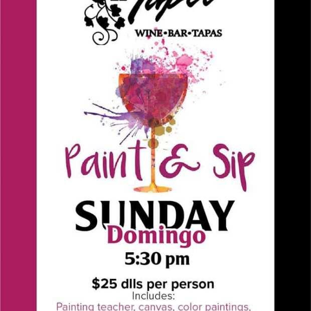 El-Tapeo-Paint-Sip-20 Whenever it rains... Rocky Point Weekend Rundown!