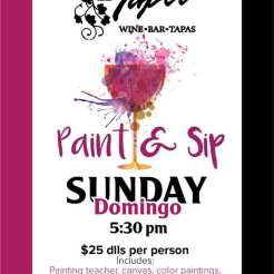 El-Tapeo-Paint-Sip-20 Welcome, March! Rocky Point Weekend Rundown!