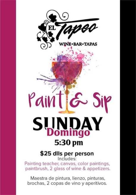 El-Tapeo-Paint-Sip-20 ¡VIVA la fiesta! Rocky Point Weekend Rundown!