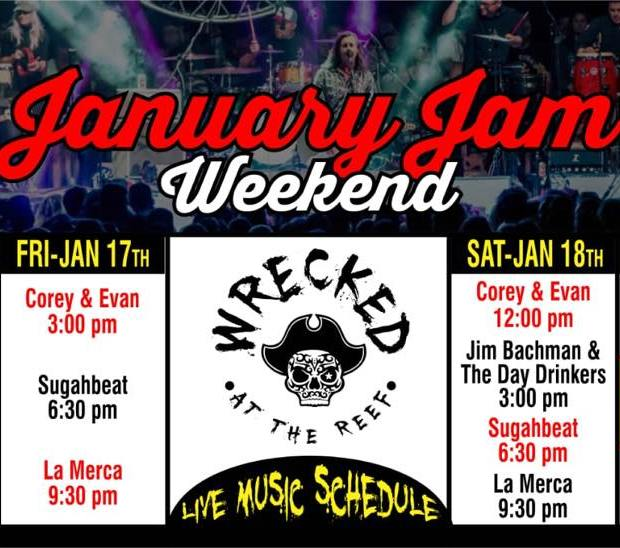 Wrecked-January-Jam-Weekend-Music-20 Jam with us! Rocky Point Weekend Rundown!