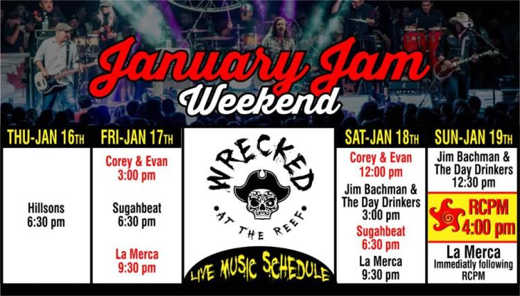 Wrecked-January-Jam-Weekend-Music-20 Wrecked January Jam Weekend Music Schedule