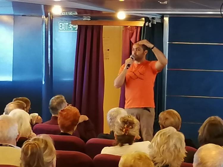 cedo-astoria2 CEDO staff promote ecotourism aboard the Astoria