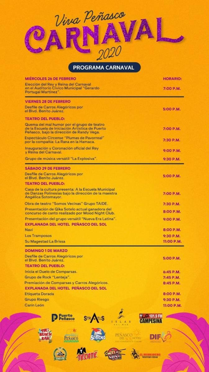 Carnaval-Programa-20-673x1200 ¡VIVA la fiesta! Rocky Point Weekend Rundown!