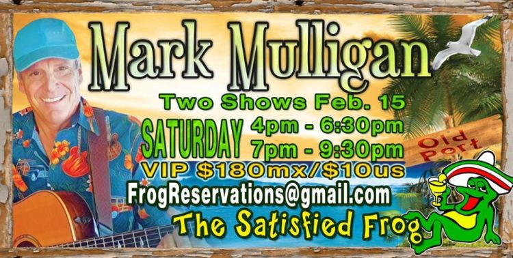 Satisfied-Frog-Mark-Mulligan-Feb-15-20 Mark Mulligan Double Show at The satisfied Frog