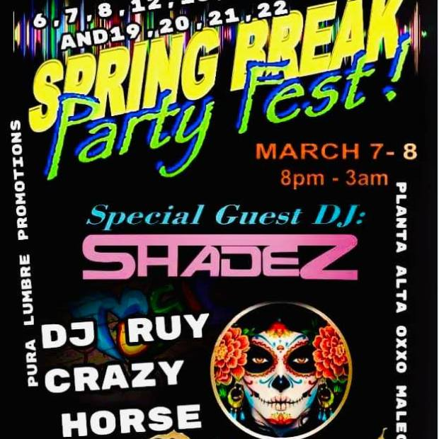 La-Catrina-Spring-Break-Party-Fest-20 Welcome, March! Rocky Point Weekend Rundown!