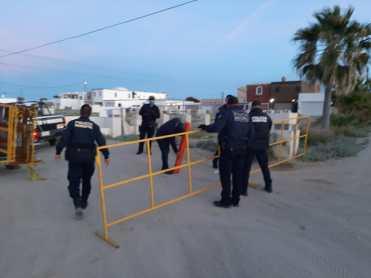 beach-entry-closure Coordinated operations to prevent coronavirus in Puerto Peñasco