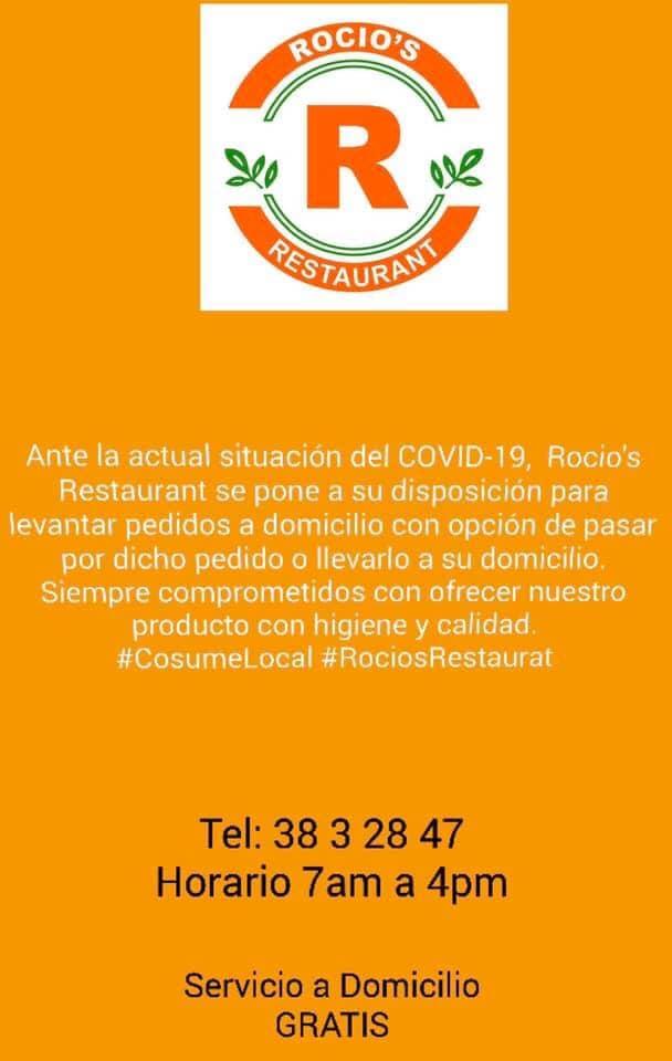 rocios-restaurant #ConsumeLocal #supportlocalbusiness