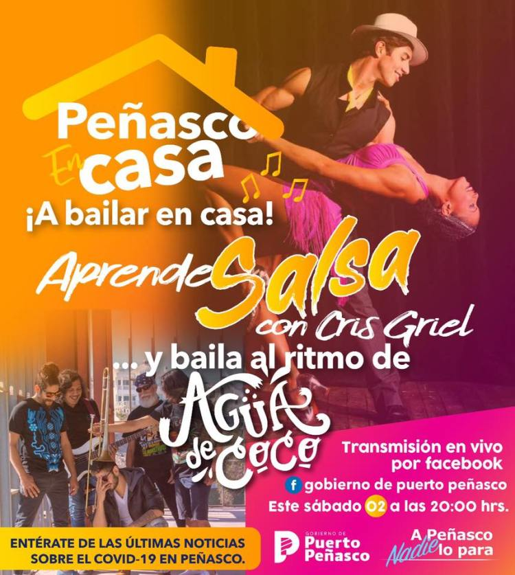 2-mayo-bailar-salsa-en-casa Agua de Coco - ¡a bailar en casa! 2 de mayo