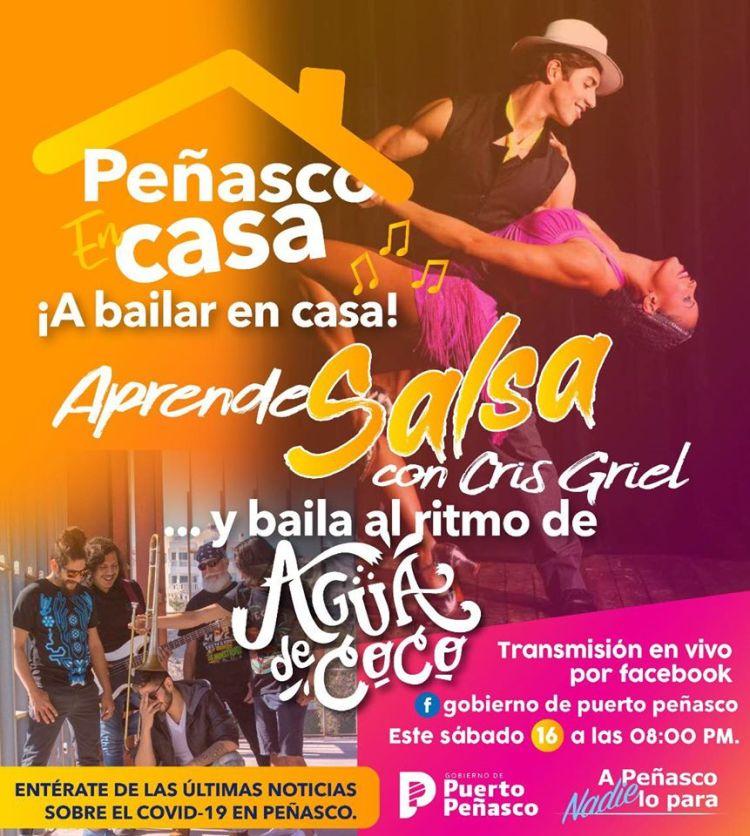 salsa-may-16 ¡A bailar en casa! Salsa in your living room! Agua de Coco