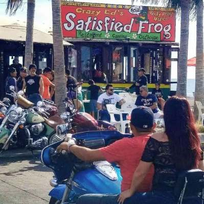 satisfied-frog-outside 2018 Rocky Point Rally Calendar a Puerto Penasco tradition!
