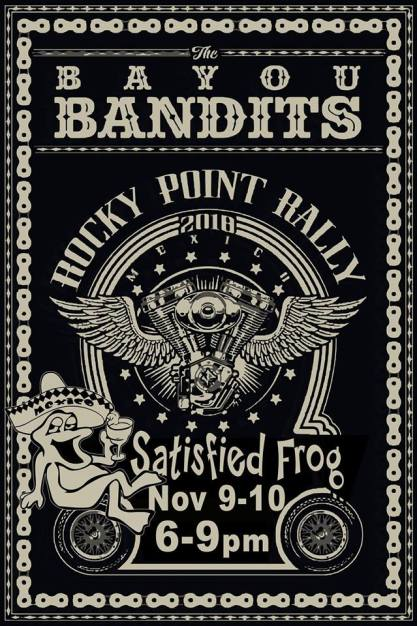 satisfied-frog 2018 Rocky Point Rally Calendar a Puerto Penasco tradition!