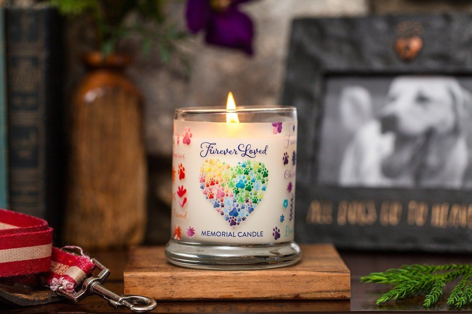 Pet House Candle Memorial