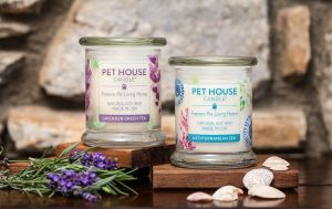 Pet House Candle Spring