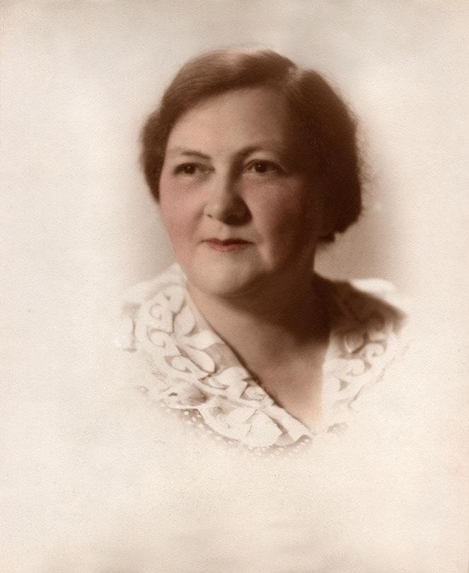 My grandmother, Stella H. Smith, 1894 - 1969.