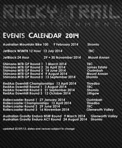 RTE events calendar 2014 V3