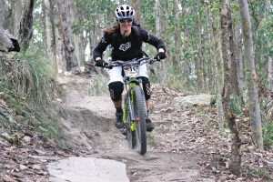 Genevieve McKew, one of the strongest NSW gravity enduro racers will take on an interstate field of female riders this Sunday. - Photo: JB Photomedia