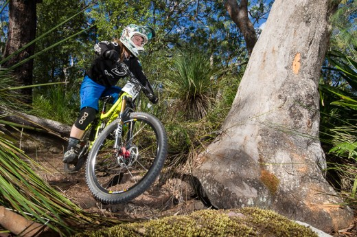 Genevieve McKew - Elite Women's 2014 Rollercoaster Gravity Enduro State Series winner. Photo: OuterImage.com.au