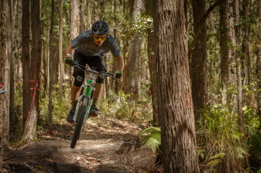 Graeme Mudd - Elite Men's 2014 Rollercoaster Gravity Enduro State Series winner. Photo: OuterImage.com.au
