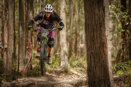 Sarah Booth - Elite Women's 2014 Rollercoaster Gravity Enduro State Series winner. Photo: OuterImage.com.au