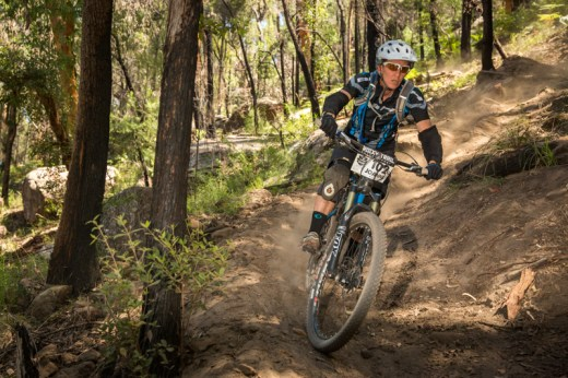 Joanne Fox, trail builder and winner at Del Rio, now on equal points with Vanessa Thompson ahead of round three. Photo: OuterImage.com.au