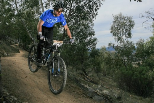 Fast and smooth descents await you at Stromlo. Photo: Jaime Black