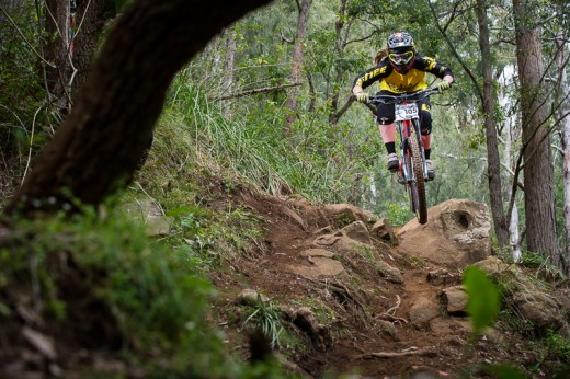 Ronja Hill-Wright takes out elite women's classification in Rd 2 - series lead.