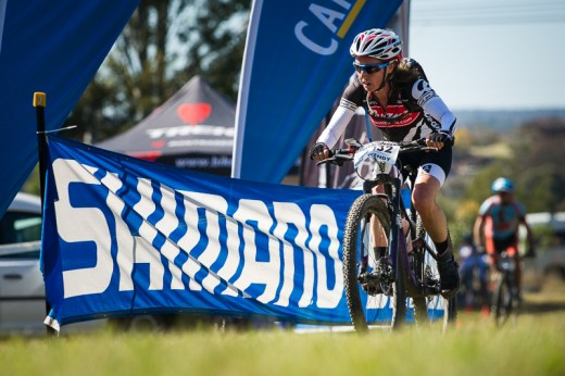 Wendy Stevenson takes over the 4 Hour women's solo GC. Photo: OuterImage.com.au