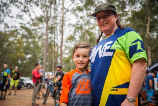 Racers at the Fox Cambelbak Superflow Championships hosted by Rocky Trail Entertainment at Ourimbah on the NSW Central Coast
