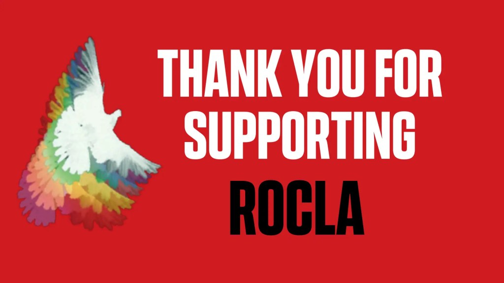 Thank you for supporting rocla