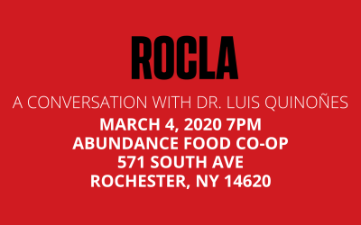 A Conversation (Plática) with Dr. Luis Quiñones: The Chicano/Chicana Justice Movement and Beyond – March 4, 2020