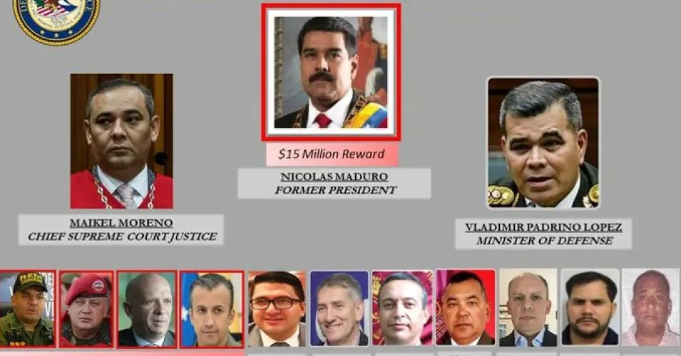 Charges against Maduro