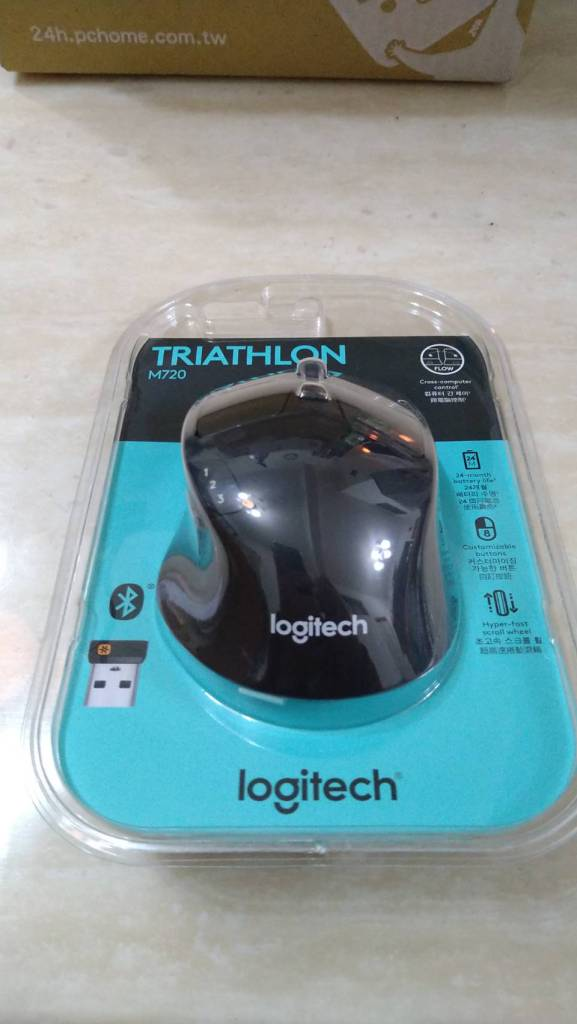 Logitech Logi M720 Large Bluetooth Wireless Mouse Review Unbox in Five Minute