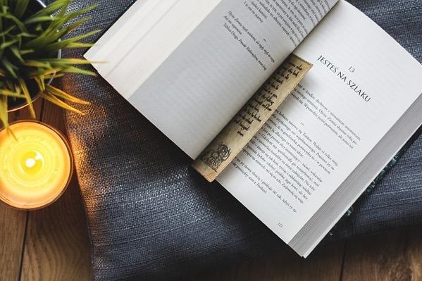 本に挟んでいるブックマーク