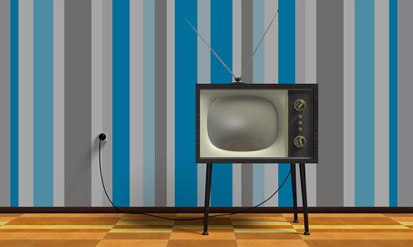旧式のテレビ