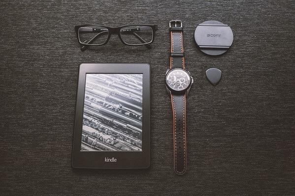 Kindleと腕時計
