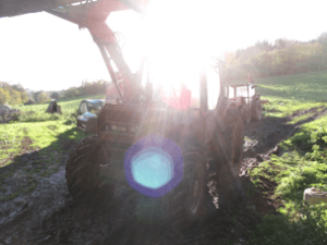 see real farm machines working in devon