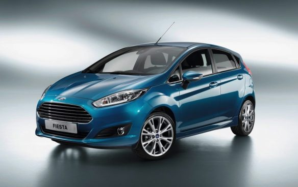 Paris Motor Show - New Ford Fiesta