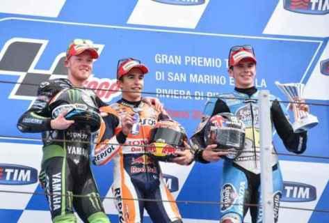 podium misano 15