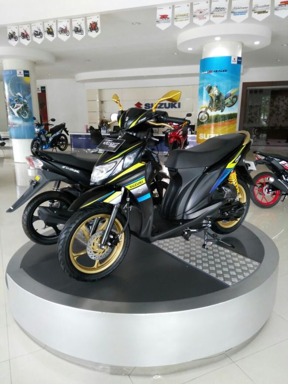 Modifikasi Suzuki Nex Fi