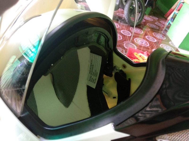 Perbaiki Double Visor Helm MDS Super Pro