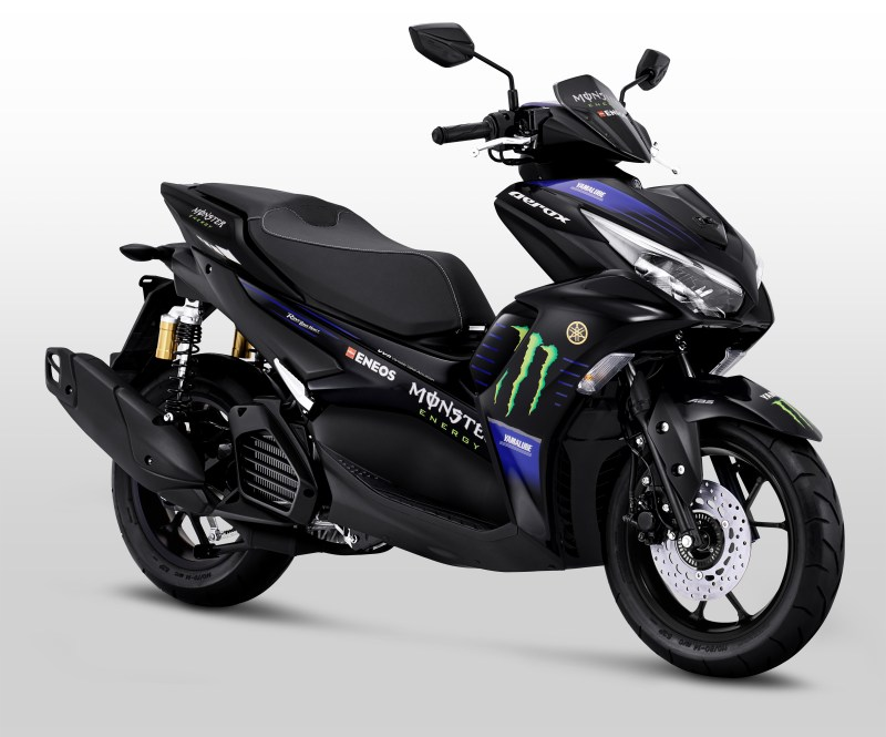 Aerox 155 Connected Monster Energy