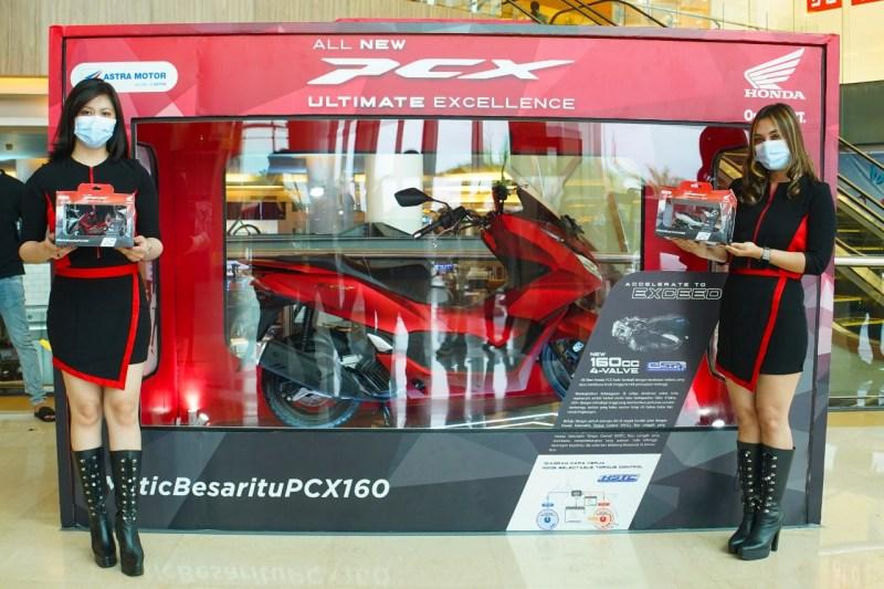 pcx 160 astra motor makassar