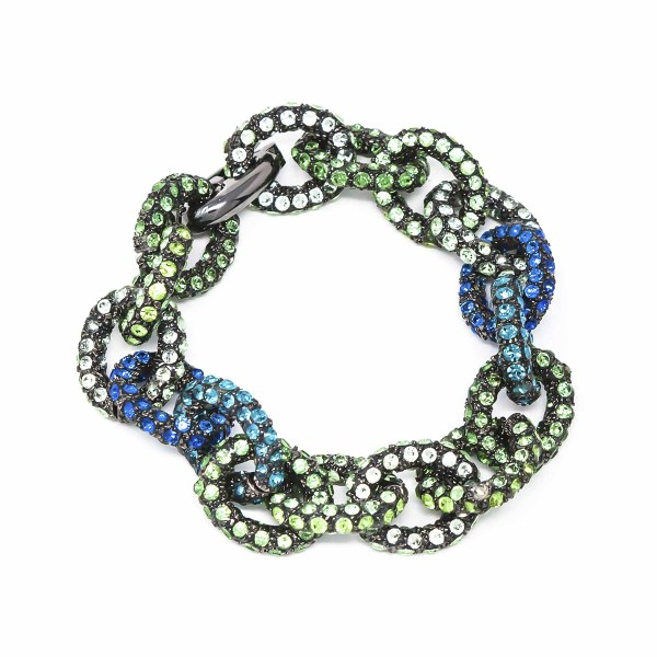 Bracelet Chain for Love Green Blue SCH 458-2