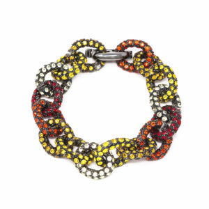 Bracelet Chain for Love Yellow Red SCH 458-1